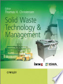 Solid Waste Technology And Management book