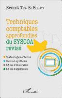 Techniques comptables approfondies du SYSCOA r  vis