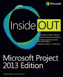 Microsoft Project Inside Out  2013 Edition