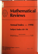 Mathematical Reviews