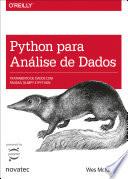 Python Para An Lise De Dados