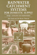 Rainwater Catchment Systems for Domestic Supply