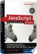 Javascript Und Ajax Das Umfassende Handbuch