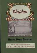 Walden with Thoreau s Essay on the Duty of Civil Disobedience