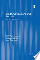 Credit  Consumers and the Law