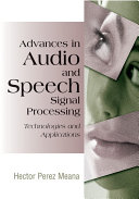 Advances in audio and speech signal processing