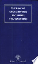 The Law of Cross border Securities Transactions