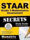 STAAR Grade 3 Mathematics Assessment Secrets Study Guide
