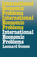 International Economic Problems