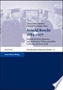 Arnold Brecht, 1884-1977
