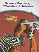 Science Puzzlers  Twisters and Teasers
