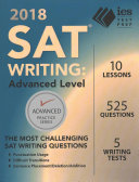SAT Writing 2018: Advanced Level