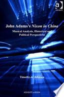 Book John Adams s Nixon in China