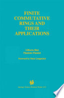 Finite Commutative Rings And Their Applications book