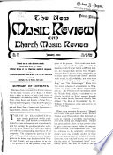 New Music Review and Church Music Review