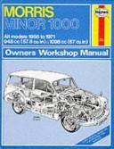 Haynes Morris Minor 1000 Owners Workshop Manual 1956 Thru 1971