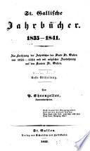 St.-Gallische Jahrbücher