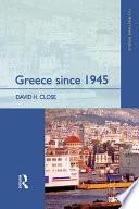 Greece since 1945