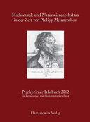 Mathematik und Naturwissenschaften in der Zeit von Philipp Melanchthon