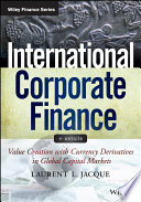 International Corporate Finance    Website