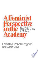A Feminist Perspective in the Academy