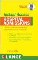 LANGE Instant Access Hospital Admissions