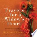 Prayers For A Widow S Heart