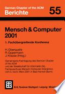 Mensch   Computer 2001