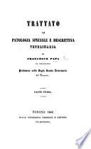 Trattato di patologia speciale e descrittiva veterinaria