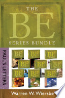 The BE Series Bundle  Paul s Letters