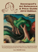 2012 Davenport s Art Reference and Price Guide