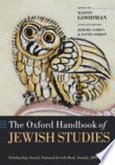 The Oxford Handbook of Jewish Studies