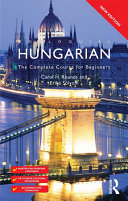 Colloquial Hungarian  eBook And MP3 Pack  To Date Specially Written By