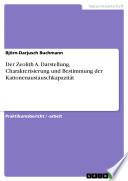 Der Zeolith A. Darstellung, Charakterisierung und Bestimmung der Kationenaustauschkapazität