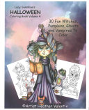 Lacy Sunshine s Halloween Coloring Book Volume 4