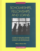 Scholarships  Fellowships and Loans