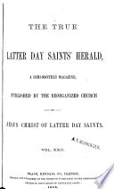 The True Latter Day Saints  Herald