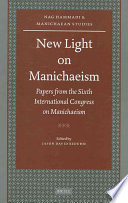 New Light on Manichaeism
