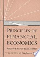 Principles of Financial Economics