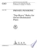 Private pensions