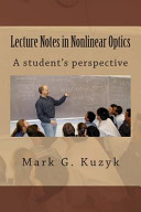 Lecture Notes in Nonlinear Optics