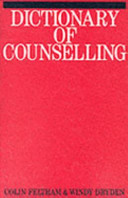 Dictionary Of Counselling