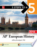 5 Steps to a 5  AP European History 2018