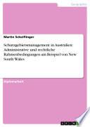 Schutzgebietsmanagement in Australien  Administrative und rechtliche Rahmenbedingungen am Beispiel von New South Wales