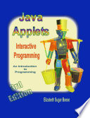 Java Applets 3rd Edition B W