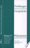 Bibliographie: Literaturpsychologie 1992 - 1996