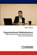 Organizational Misbehaviour book