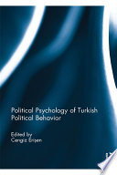 Political Psychology Of Turkish Political Behavior