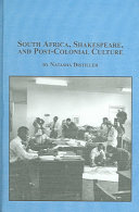 South Africa Shakespeare And Post Colonial Culture