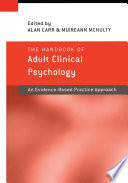 The Handbook Of Adult Clinical Psychology book